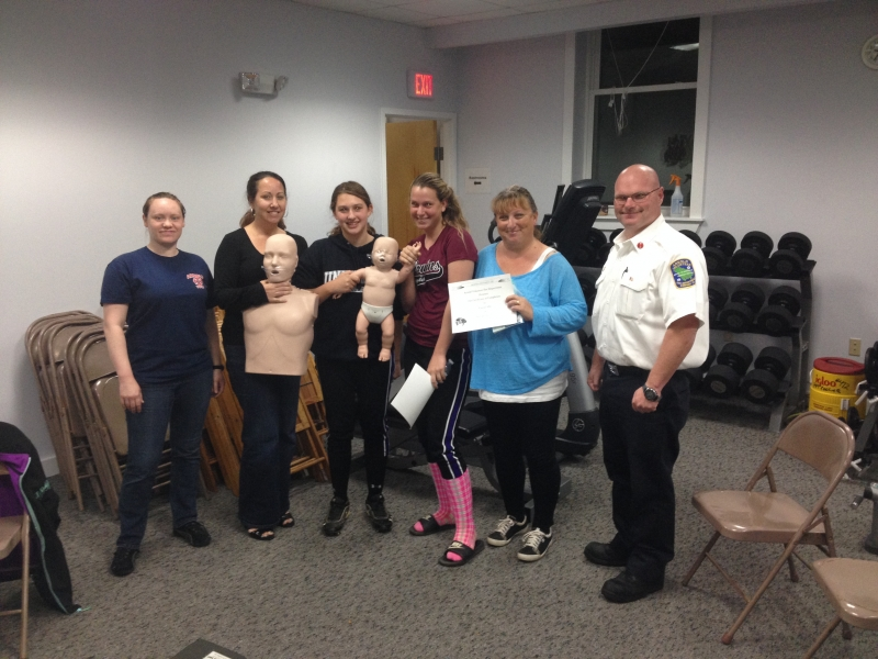 Our first Friends & Family CPR class