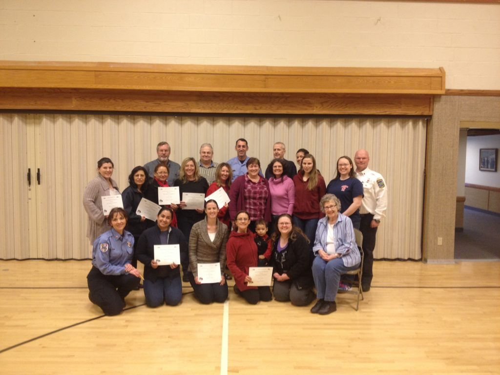 Friends & Family CPR event at the Broadneck Ward of the latter Day Saints