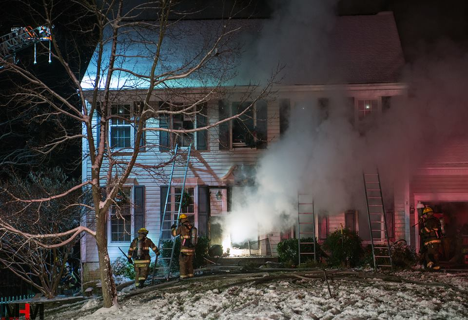 12/10/2017 Box 8-18 2nd Alarm Dwelling Fire