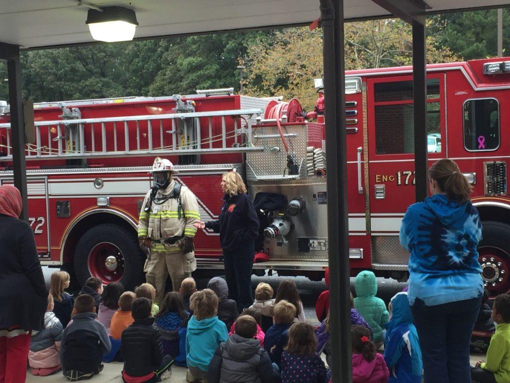Arnold Elementary School Fire Prevention